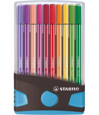 Stabilo Stabilo Pen 68 Viltstiften Color Parade 20 Kleuren 3+