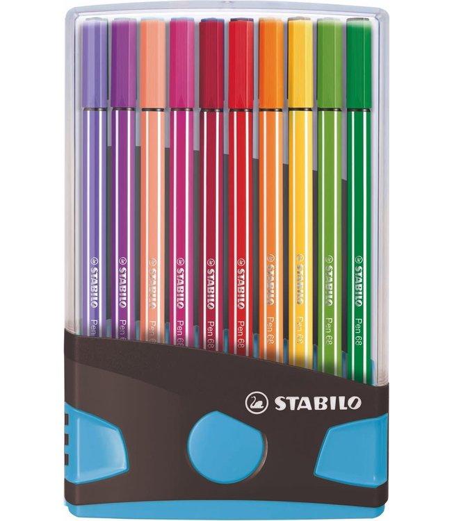 Stabilo Pen 68 Viltstiften Color Parade 20 Kleuren 3+