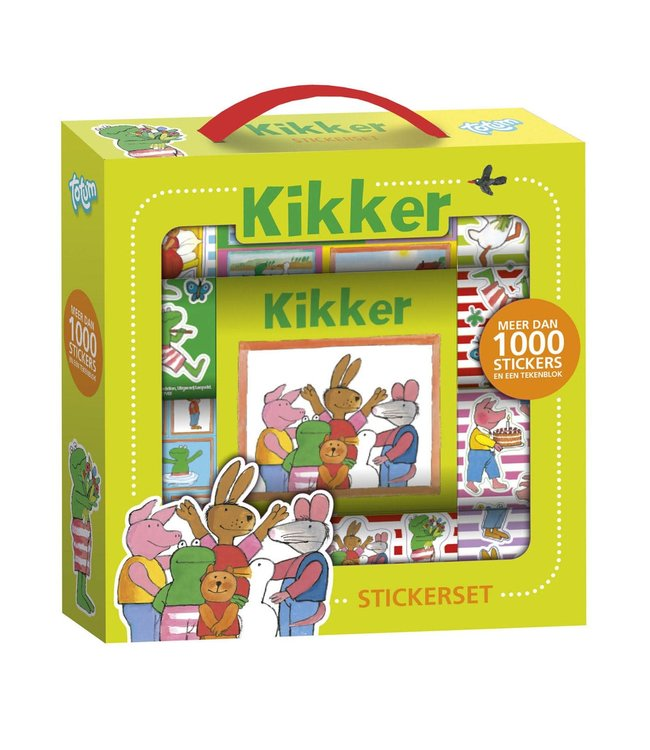 Totum Kikker Sticker Box 3+