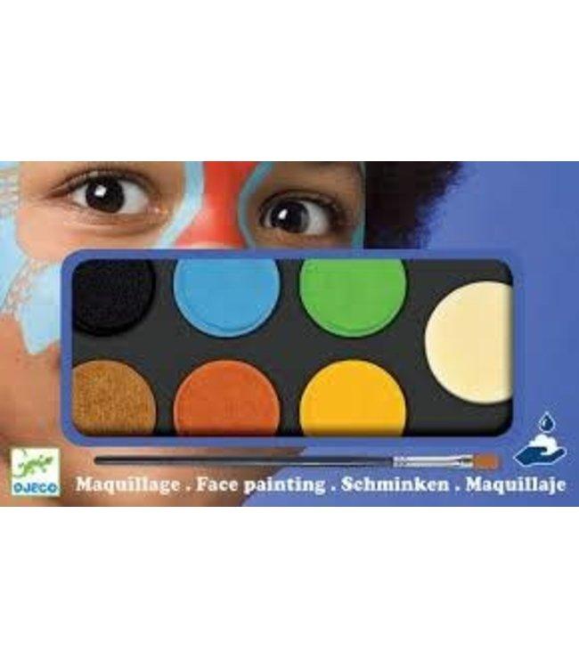 Djeco | Body Art | Schminck | Natuurlijke Kleuren | 3+