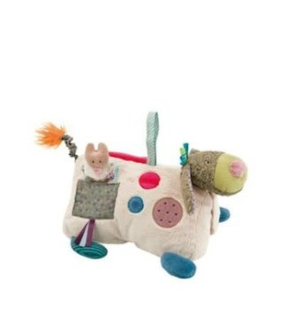 Moulin Roty Moulin Roty Les Jolis pas Beaux Activity Dog 31 cm   0+