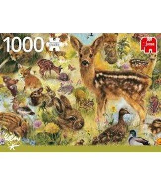 Jumbo Jumbo Rien Poortvliet Young Wildlife 1000 stukjes