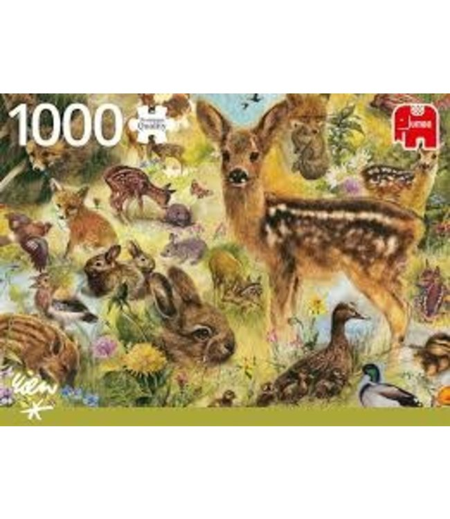 Jumbo Rien Poortvliet Young Wildlife 1000 stukjes