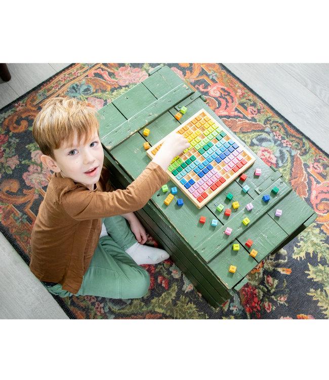 New Classic Toys - Leer de Tafels  22,5 cm  5+