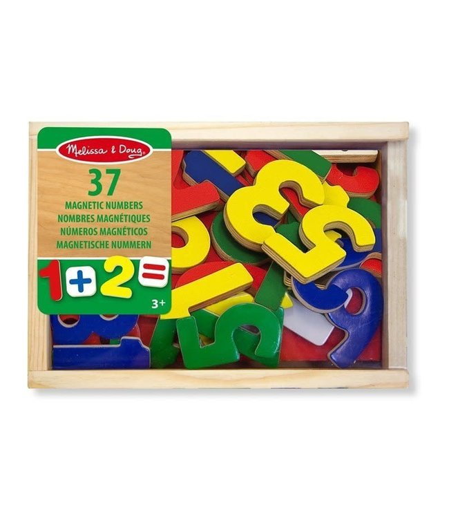 Melissa and Doug 37 Number Magnets 3+