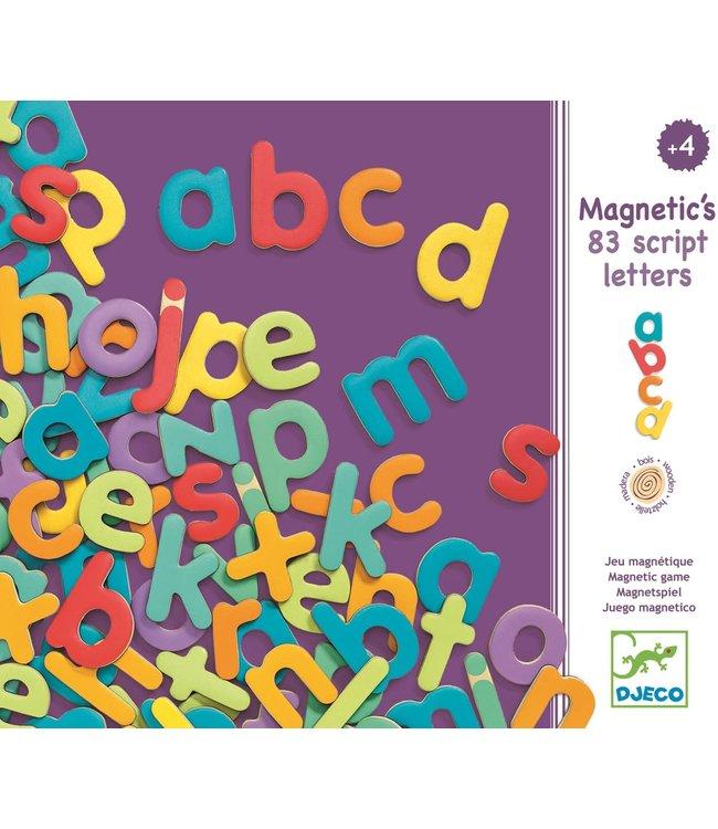 Djeco | Magnetische Letters | 83 Schrijfletters | 4+
