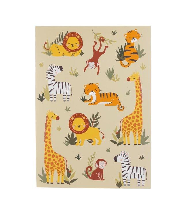 Savannah Safari A4 Sketchpad