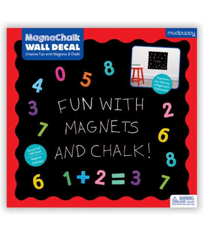 Mudpuppy MagnaChalk Wall Decal Fun with 123s!  3+