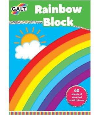 Galt Galt Rainbow Block A4  60 Sheets 3+