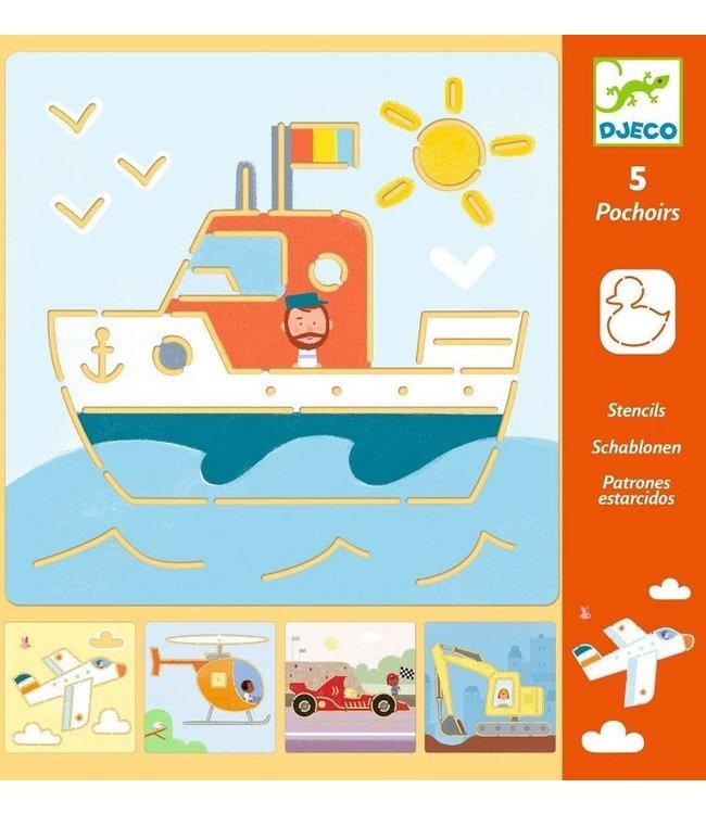 Djeco | Sjalbonen | Transport | 4-8 jaar