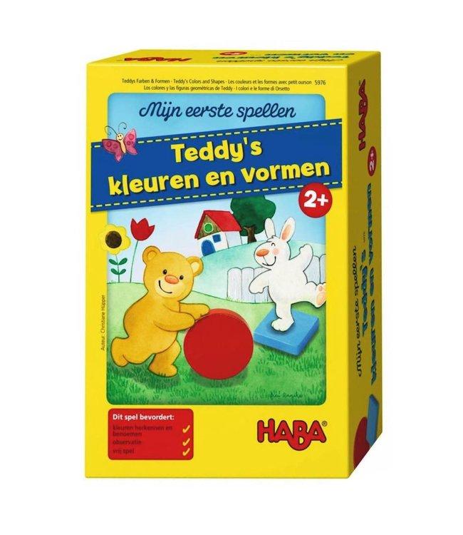 Haba Spel -Mijn eerste spellen -Teddy's kleuren en vormen 2+