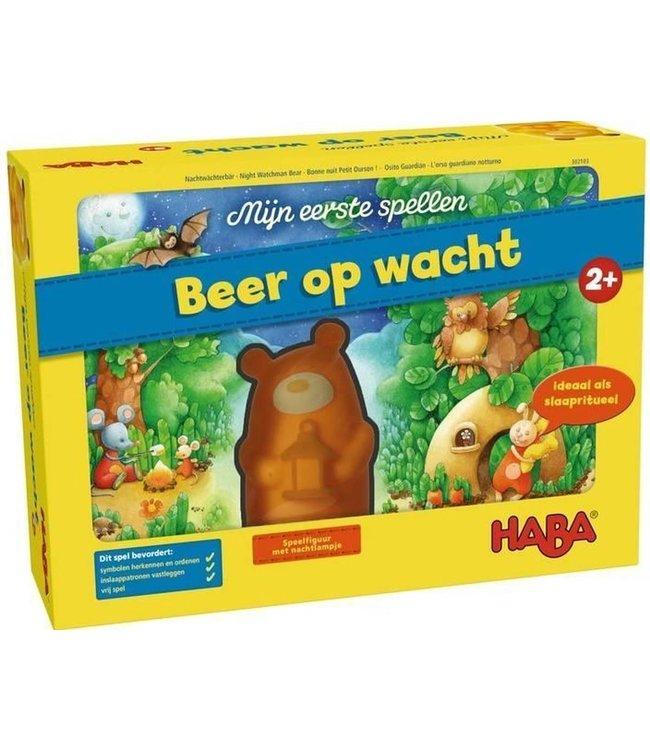 Haba Mijn Eerste Spel Beer op Wacht 2+