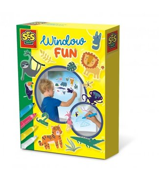 Ses Ses Window Fun Jungle 3+