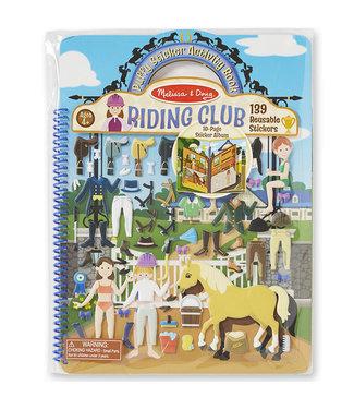 Melissa and Doug Melissa and Doug Reusable Puffy Sticker  Horse Scenes 4+