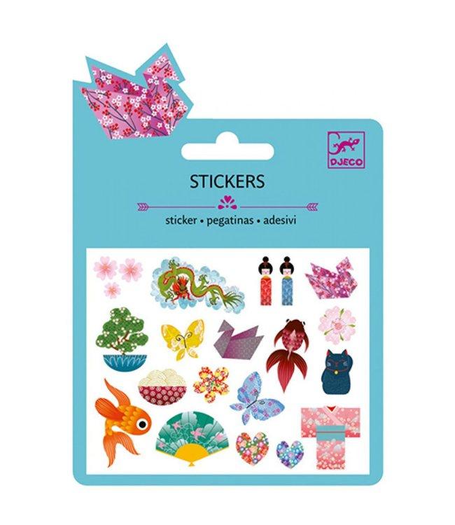 Djeco | Stickers | Japanese Designs