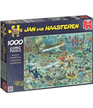 Jumbo Jumbo Jan van Haasteren Puzzel Under Water World 1000 stukjes