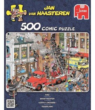 Jumbo Jumbo Jan van Haasteren Puzzel Brand Meester 500 stukjes