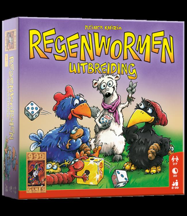 999 Games | Dobbelspel | Regenwormen | Uitbreiding | 8+