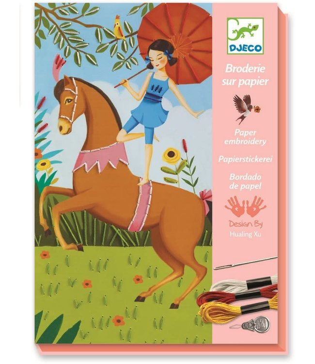 Djeco Paper Embroidery  Tales & Chimeras 7-13 yr
