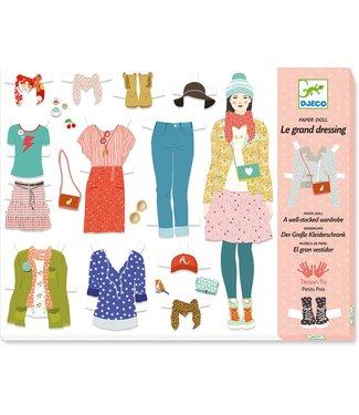 Djeco Djeco | Paper Fashion | De Grote Verkleedpartij | 6-11 jaar