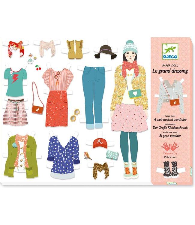 Djeco | Paper Fashion | De Grote Verkleedpartij | 6-11 jaar