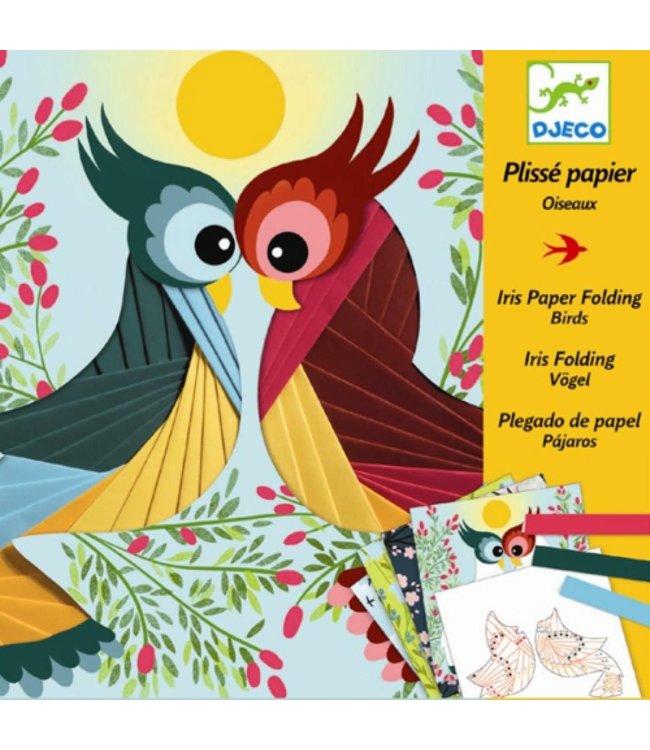 Djeco | Iris Paper Folding | Birds | 7-13 jaar