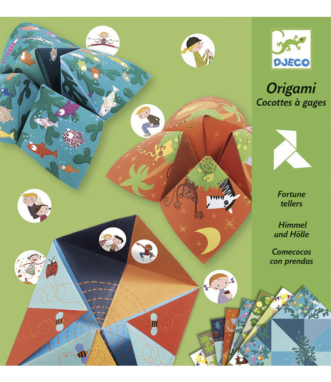 Djeco | Origami | Fortune Teller | Animals | 6-11 jaar