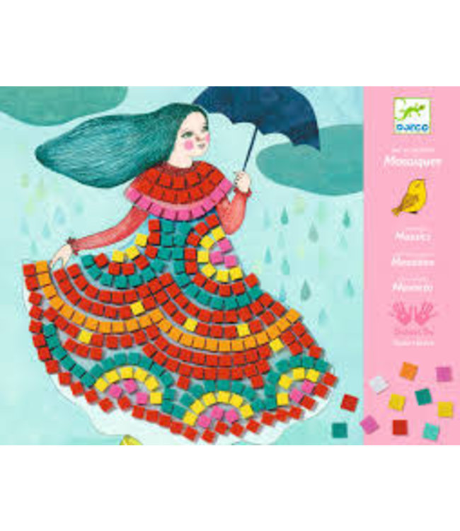 Djeco | Relief Collages| Art by Number | Party Dresses | 7-13 jaar