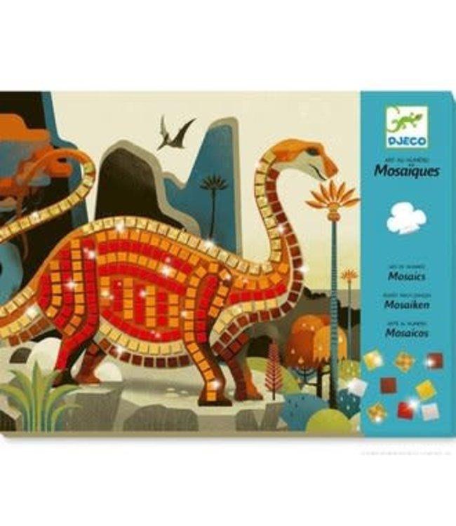 Djeco   Mozaïek   Kunst op Nummer   Metal   Dinosaurus   4-8 jaar