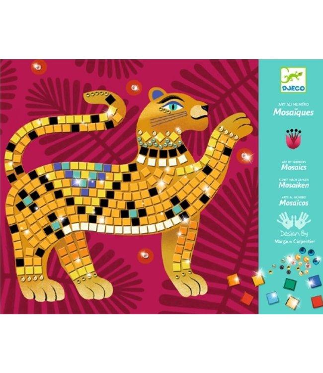 Djeco   Relief Collages  Art by Number   Deep in the Jungle   7-13 jaar