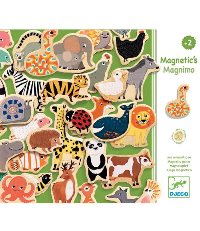Djeco | Set met Magneten | Magnimo | 36 delig | 2+