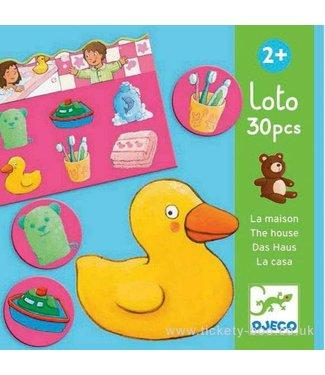 Djeco Djeco Lotto of the House  30 dlg  2+