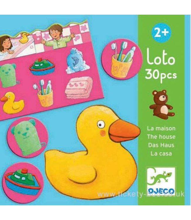 Djeco Lotto of the House  30 dlg  2+