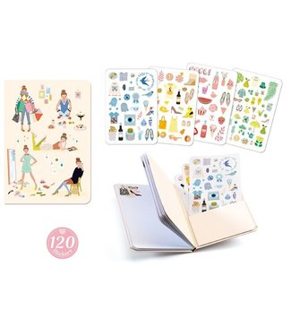 Djeco Djeco Notitieboekje met Stickers Tinou