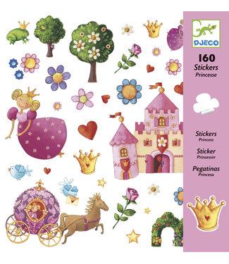 Djeco Djeco 160 Stickers Princesse Marguerite 4-8 jaar