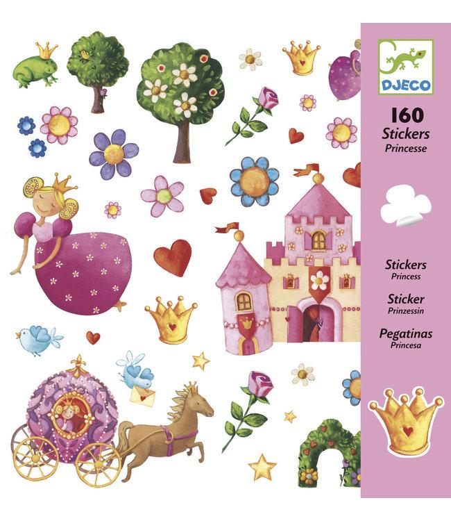 Djeco | Stickers | Princess Marguerite | 160 stuks | 4+