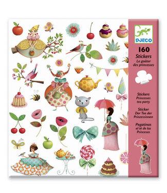 Djeco Djeco 160 Stickers Princess Tea Party 6-11 jaar