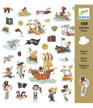 Djeco Djeco 160 Stickers Pirates  4+