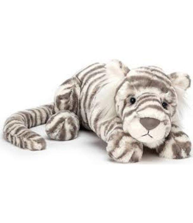 Jellycat Sacha Snow Tiger Little 29 cm