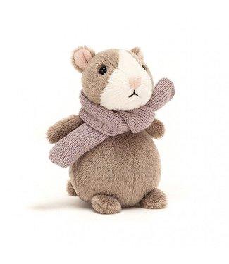 Jellycat Jellycat Happy Nutmeg Hamster Mini 12 cm