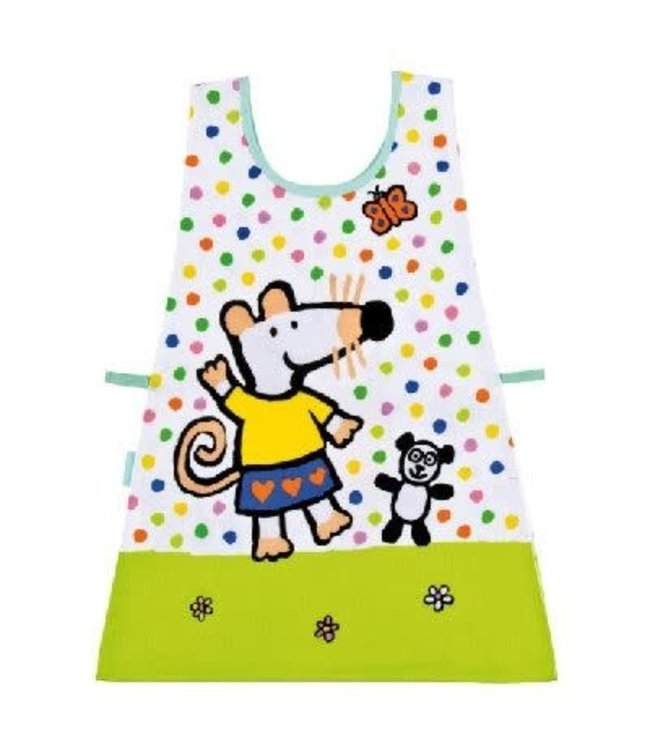 Petit Jour Coated Cotton Double Apron Maisy with Dots