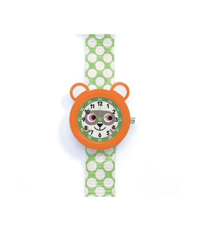 Djeco   Horloge   Wasbeer   5+