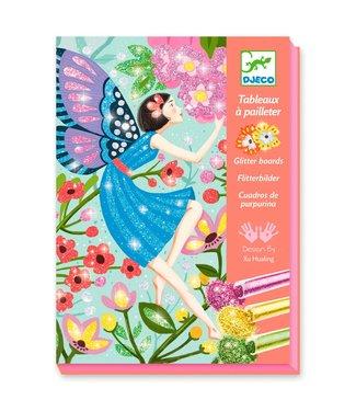 Djeco Djeco | Glitter Schilderijen | Feeerieke Sferen | 7-13 jaar