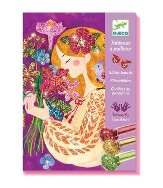 Djeco Djeco | Glitter Schilderijen | de Geur van Bloemen | 7-13 jaar