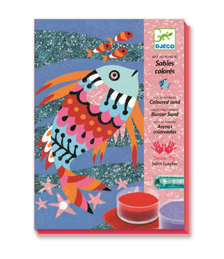 Djeco Djeco | Gekleurd Zand | Regenboog Vissen | 6-11 jaar