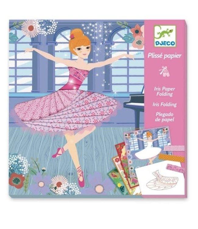 Djeco   Iris Paper Folding   Dancers   7-13 jaar