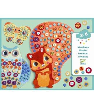 Djeco Djeco | Collages | Mozaïeken | Milfiori | 3-6 jaar