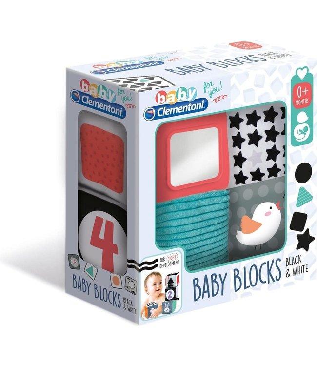 Clementoni | Zachte Baby Blokken | 4 delig | 0+