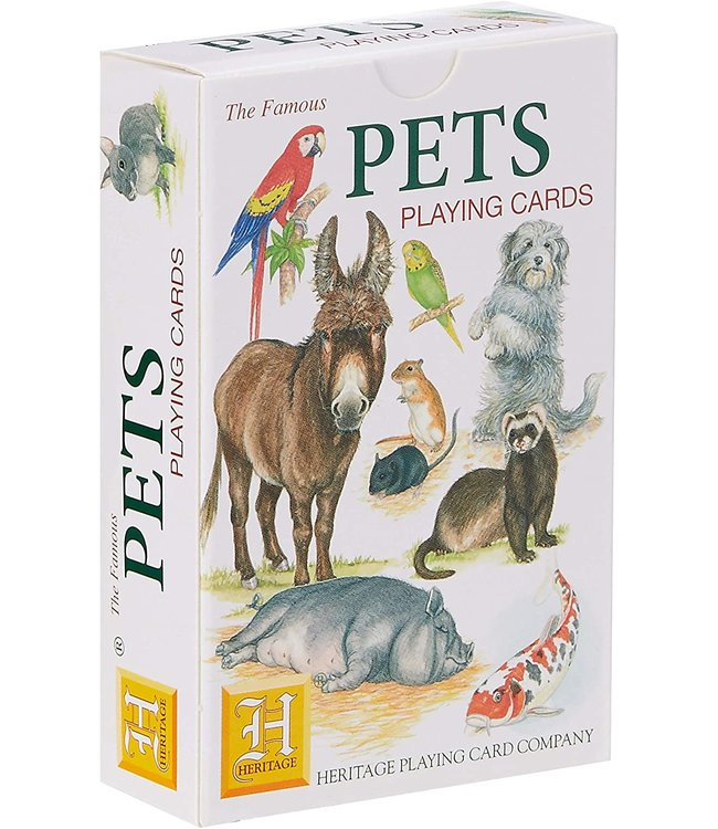 Heritage Playing Cards Pets Speelkaarten