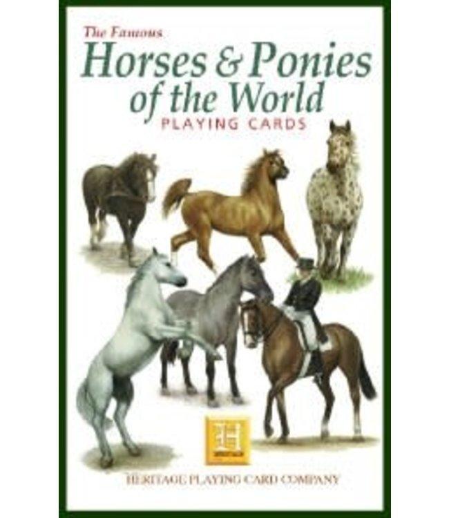 Heritage Playing Cards Horses Speelkaarten